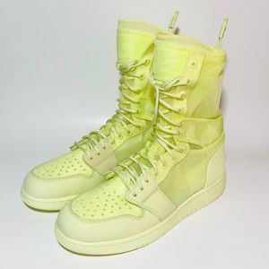 Women's Nike Air Jordan 1 Explorer XX Green NEW